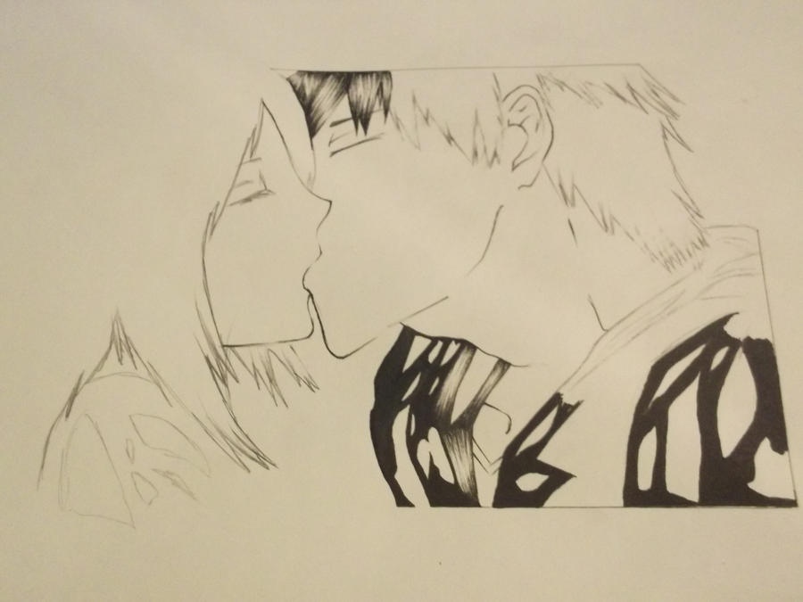 ichigo and rukia kiss - photo #43