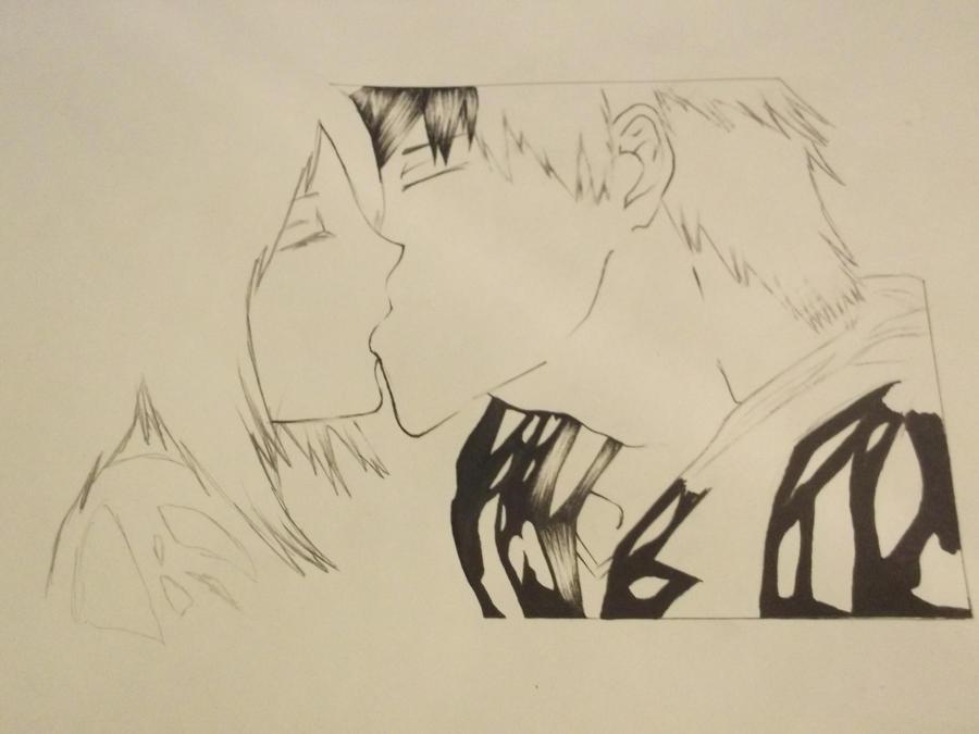 ichigo and rukia kiss - photo #43