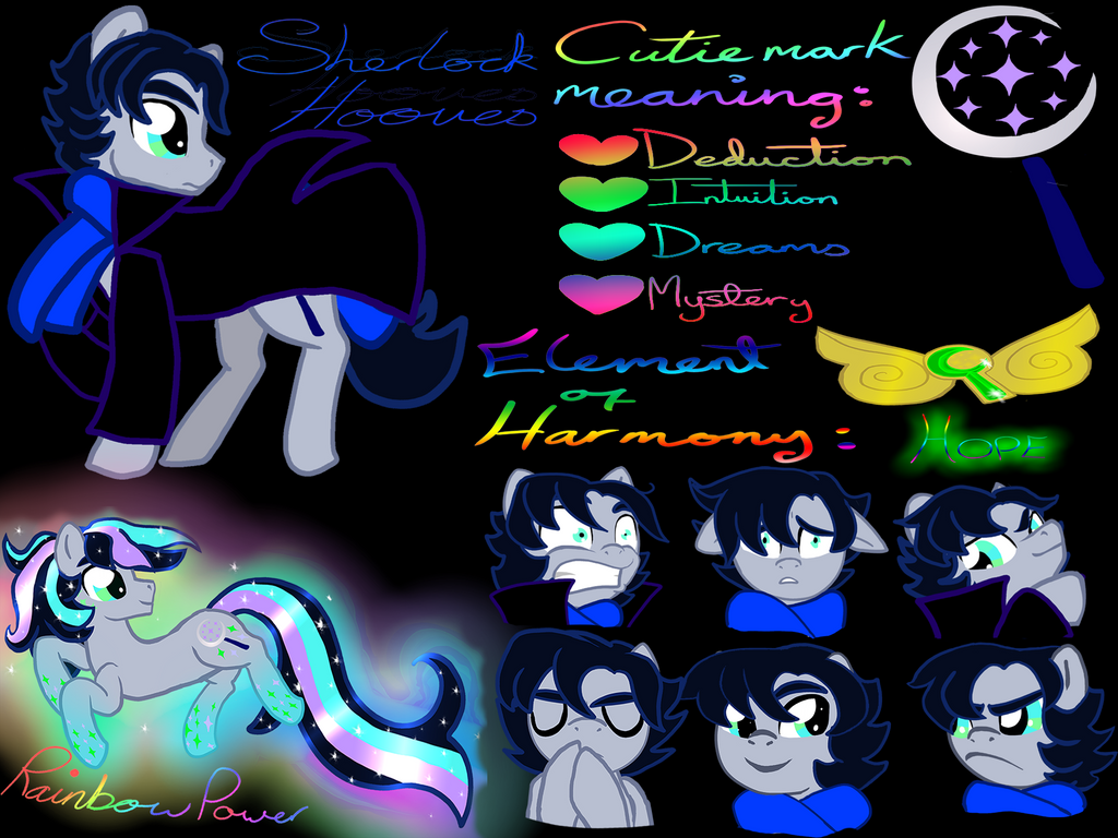 Deduction is magic: Sherlock Hooves by KHough