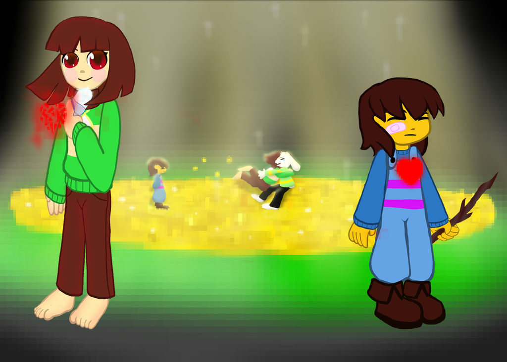 Undertale: Frisk and Chara headcanons by KHough on DeviantArt