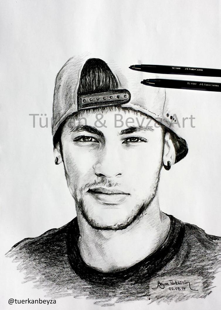 Drawing Of Neymar By Tuerkanbeyza On DeviantArt