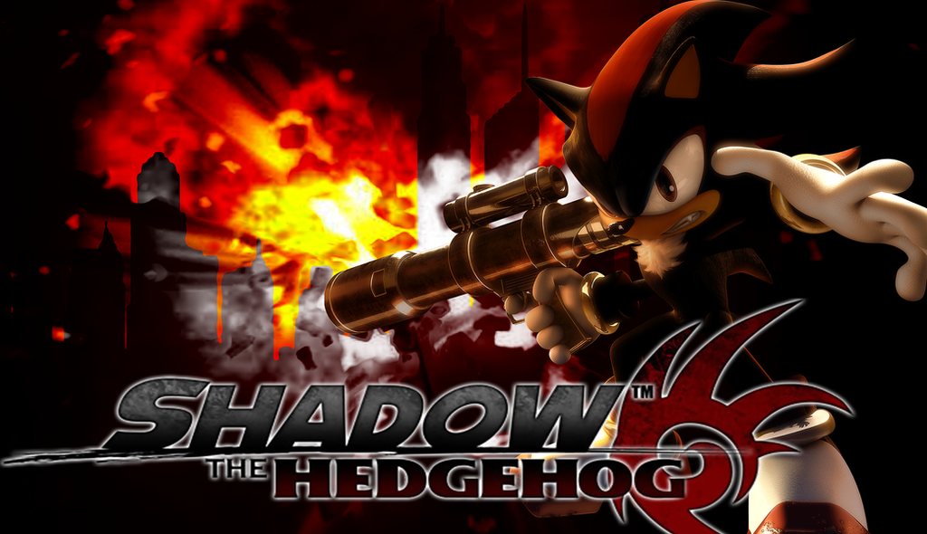 Shadow The Hedgehog Wallpaper By Chiptechx On Deviantart