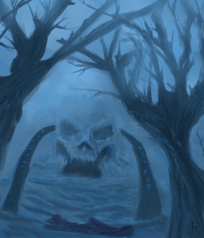 Skull Cave by RVHochman