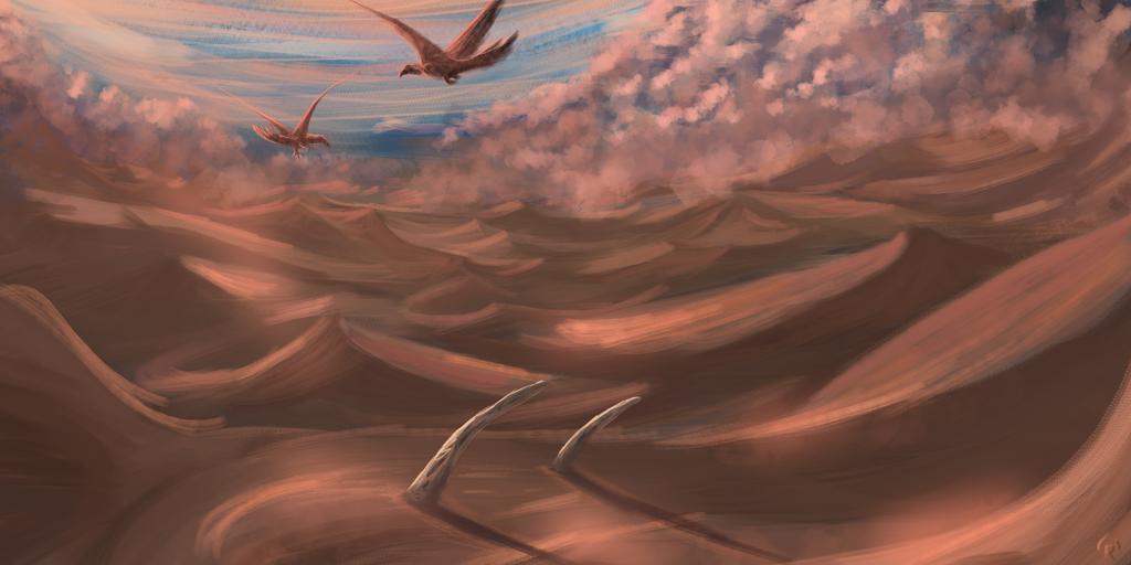 Sands of Amora by RVHochman