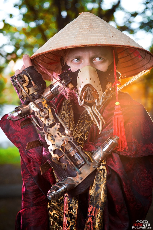 steampunk samurai by skeep11 on DeviantArt