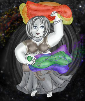 Colors of the Rainbow: Dancer