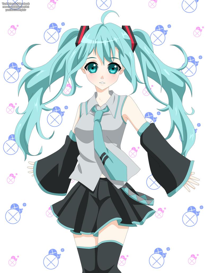 Hatsune Miku by nao-chan99