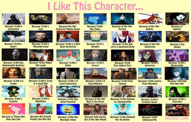 My I Like This Character Meme