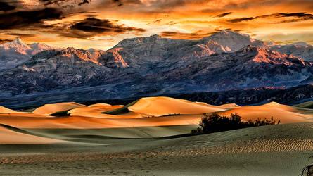 First Light on Mesquite Flats Dunes