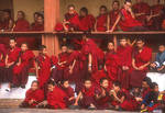 Novice Monks by BAldrich