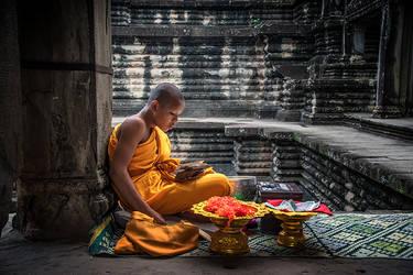 Monk at Studies