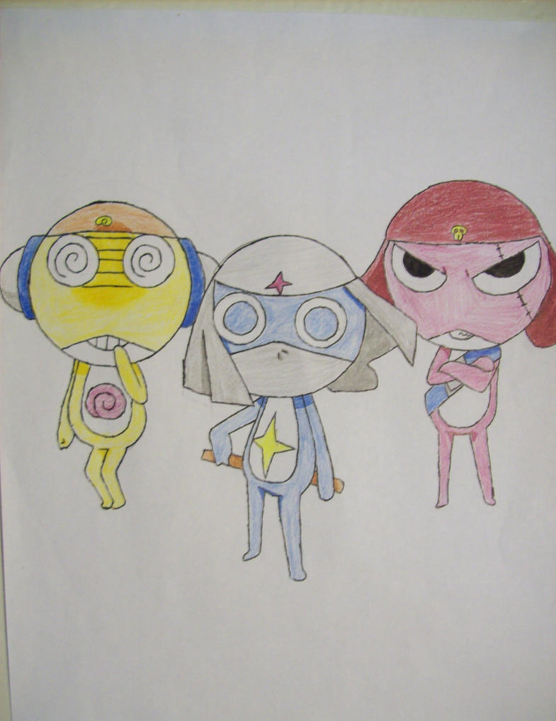 My favorite Sgt. Frog characters by jerboa-lover