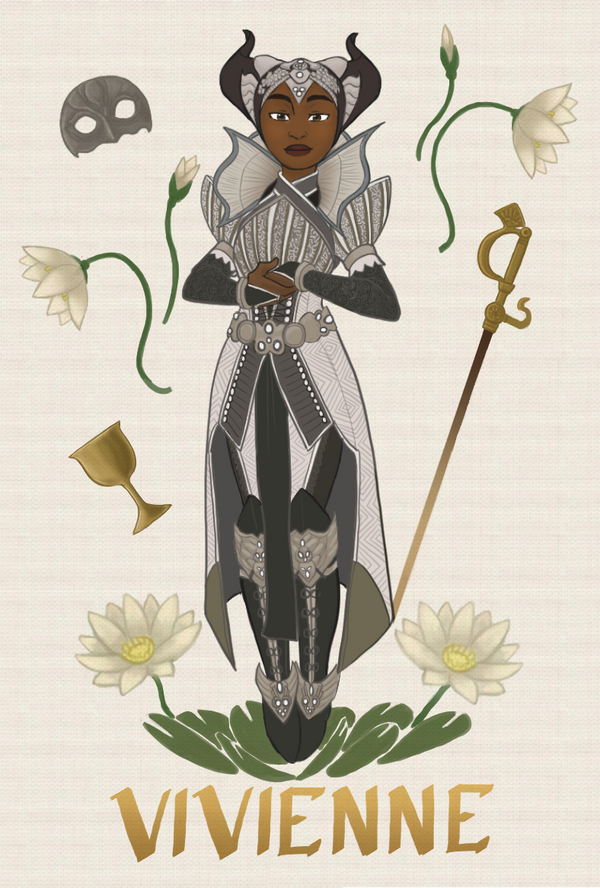 Character Card - Vivienne by river-bird
