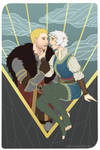The Lovers - Niamh Lavellan and Cullen Rutherford
