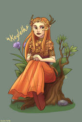 Keyleth by river-bird