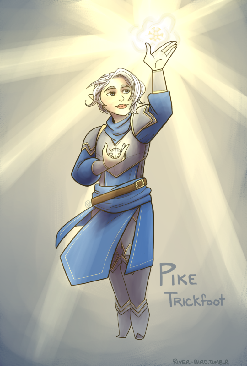 how tall is pike trickfoot