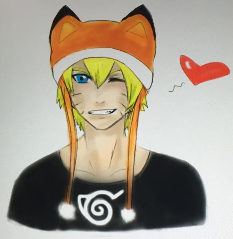 Naruto-kun by WolfieloveKibalover