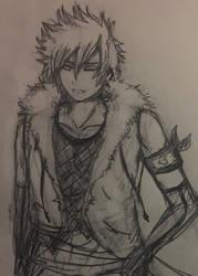 Takeo - Naruto OC (old sketch)  by WeebWolfie