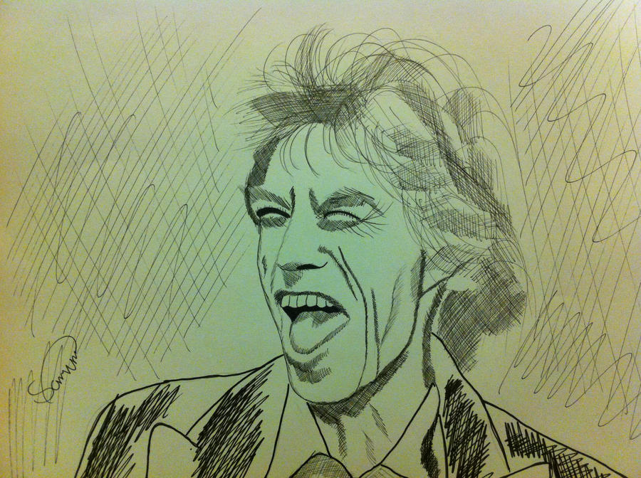 Mr Jagger by Jon-Wyatt