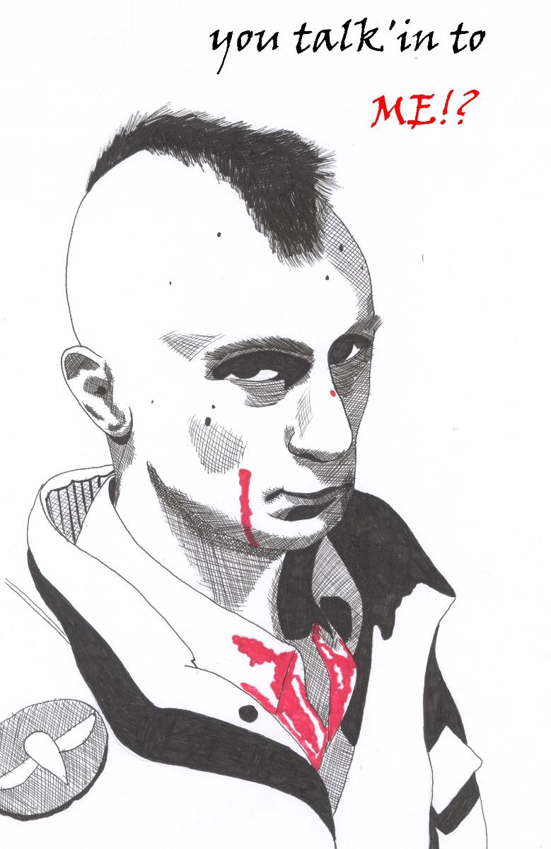 Travis Bickle by Jon-Wyatt