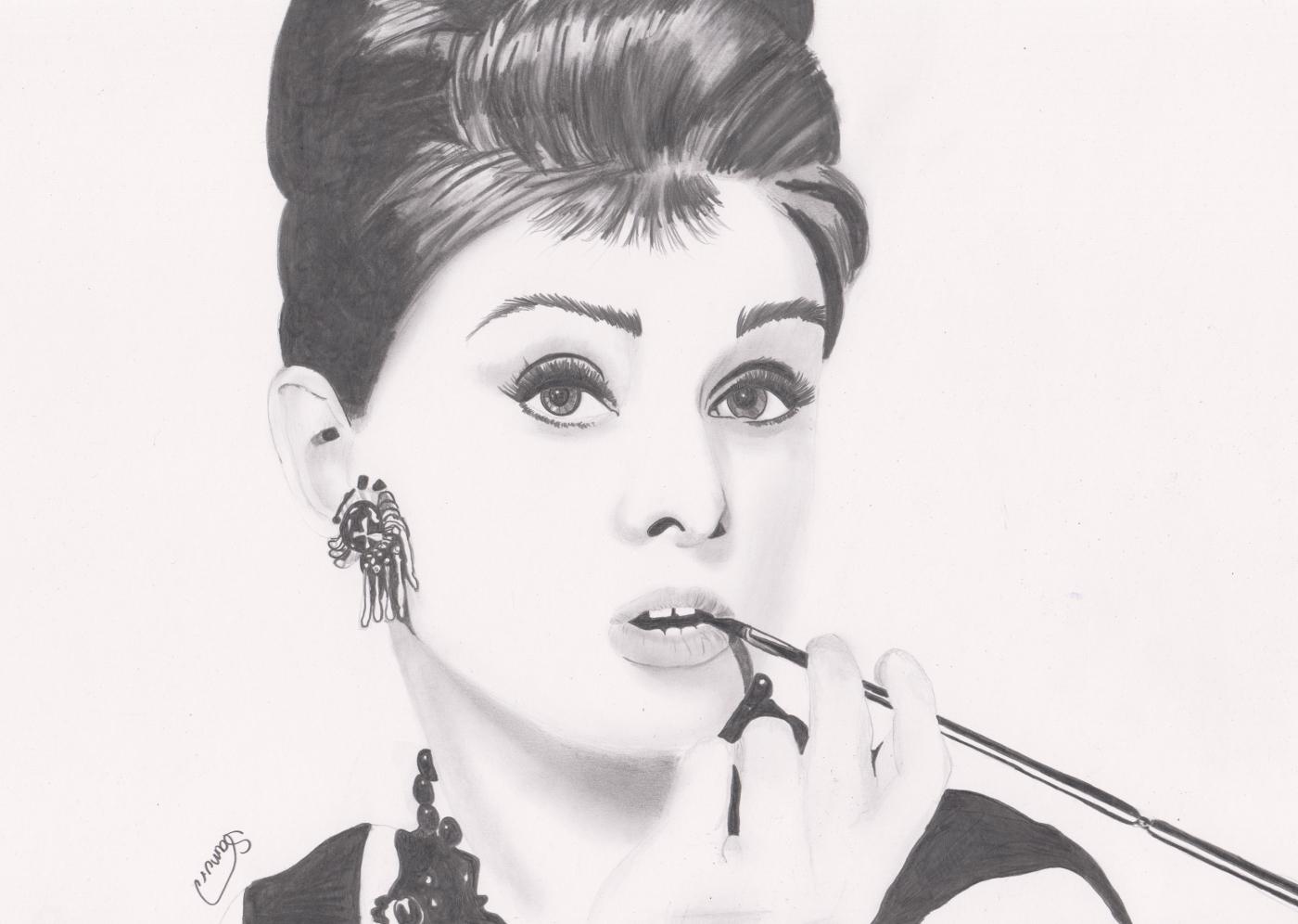 Audrey Hepburn by Jon-Wyatt