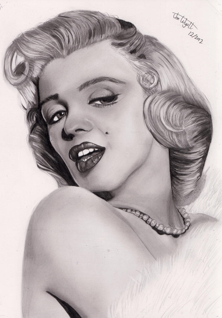 Marylin Monroe by Jon-Wyatt