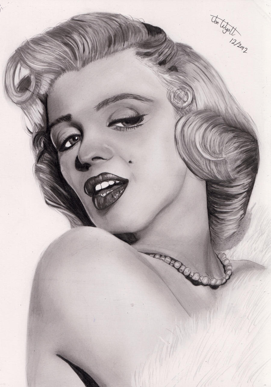 Marylin Monroe by Jon-Wyatt