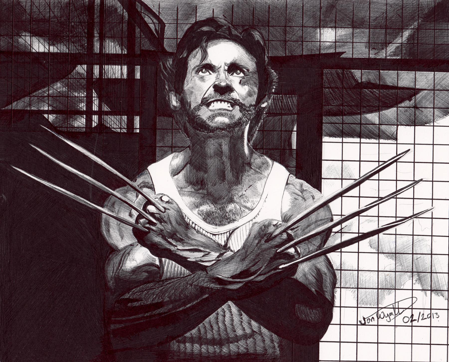 Wolverine - RAARR! by Jon-Wyatt