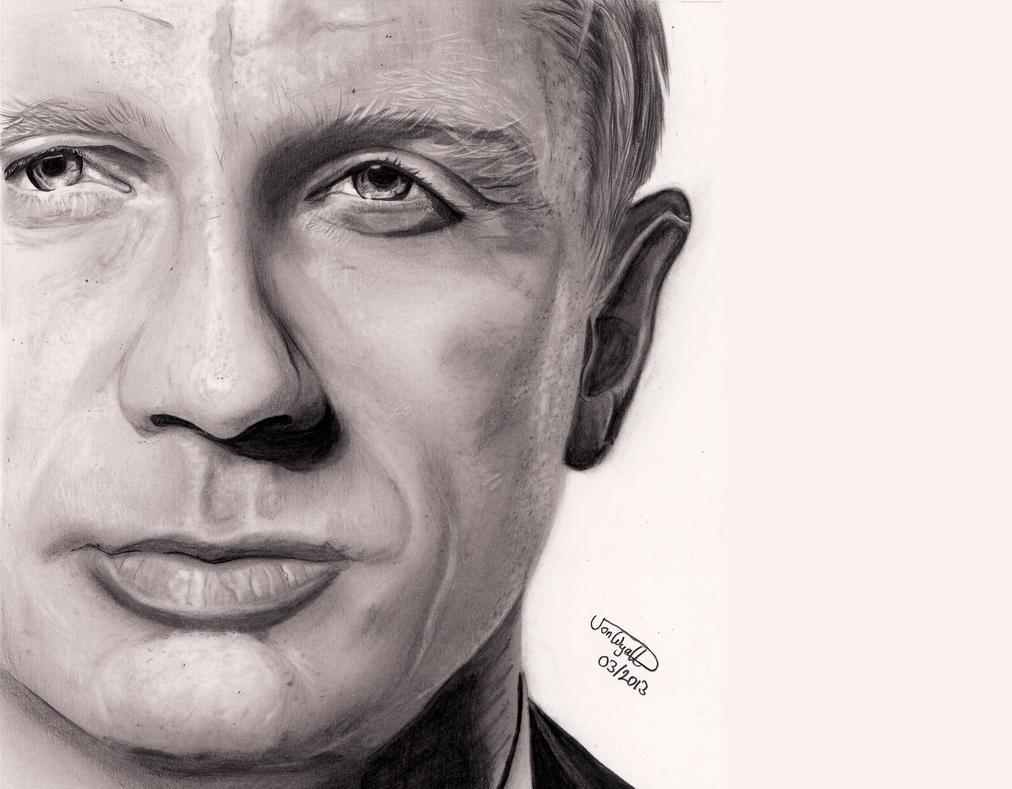 Daniel Craig by Jon-Wyatt