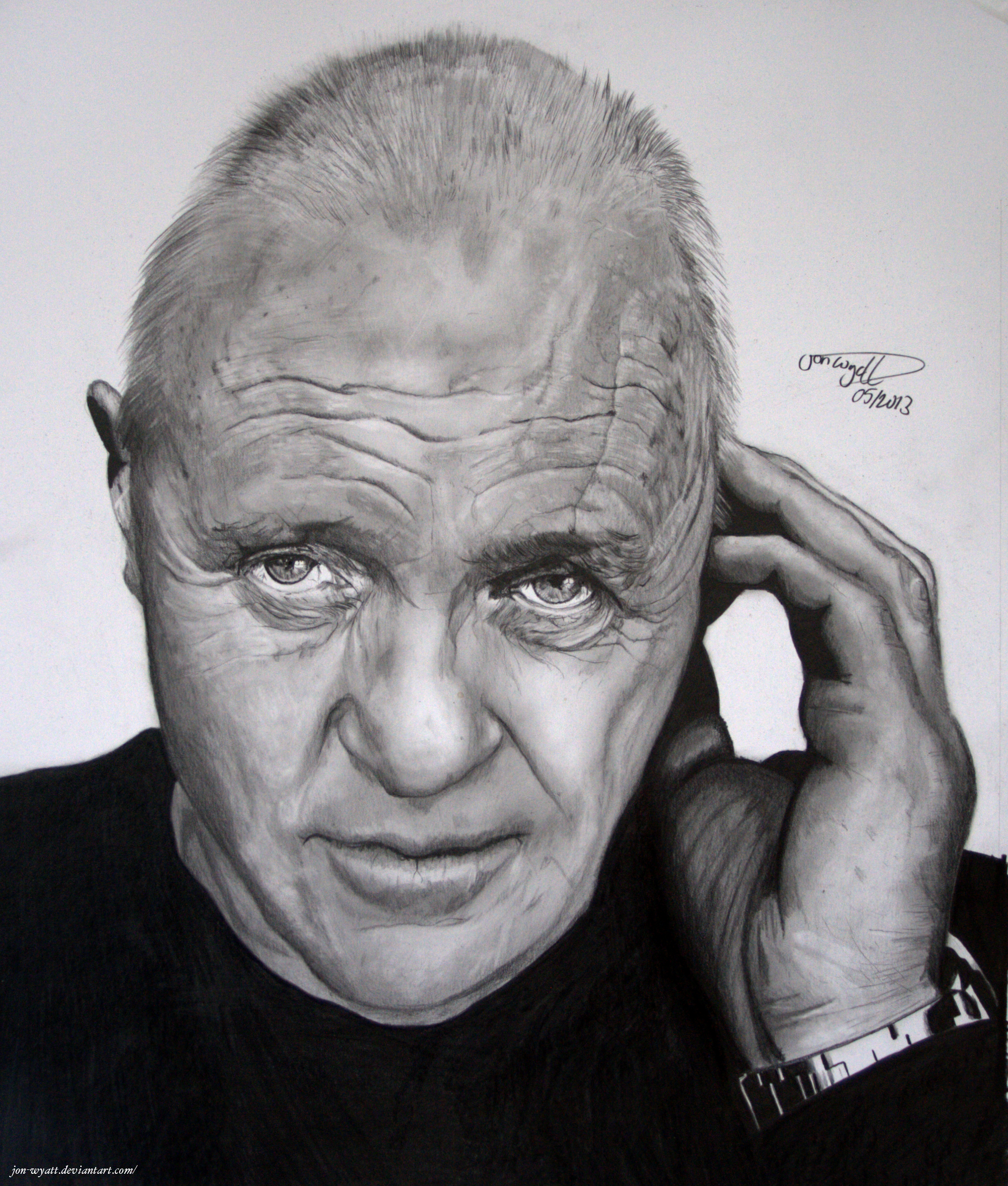 SIr Anthony Hopkins by Jon-Wyatt