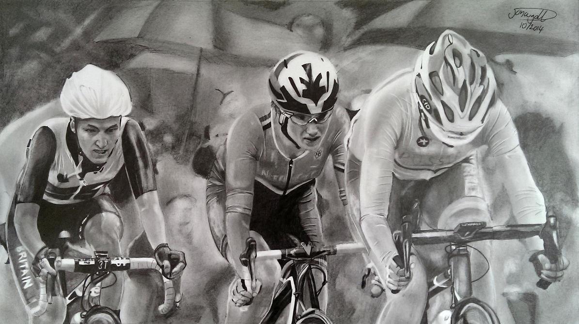 Women's 2012 Olympic Road Race by Jon-Wyatt