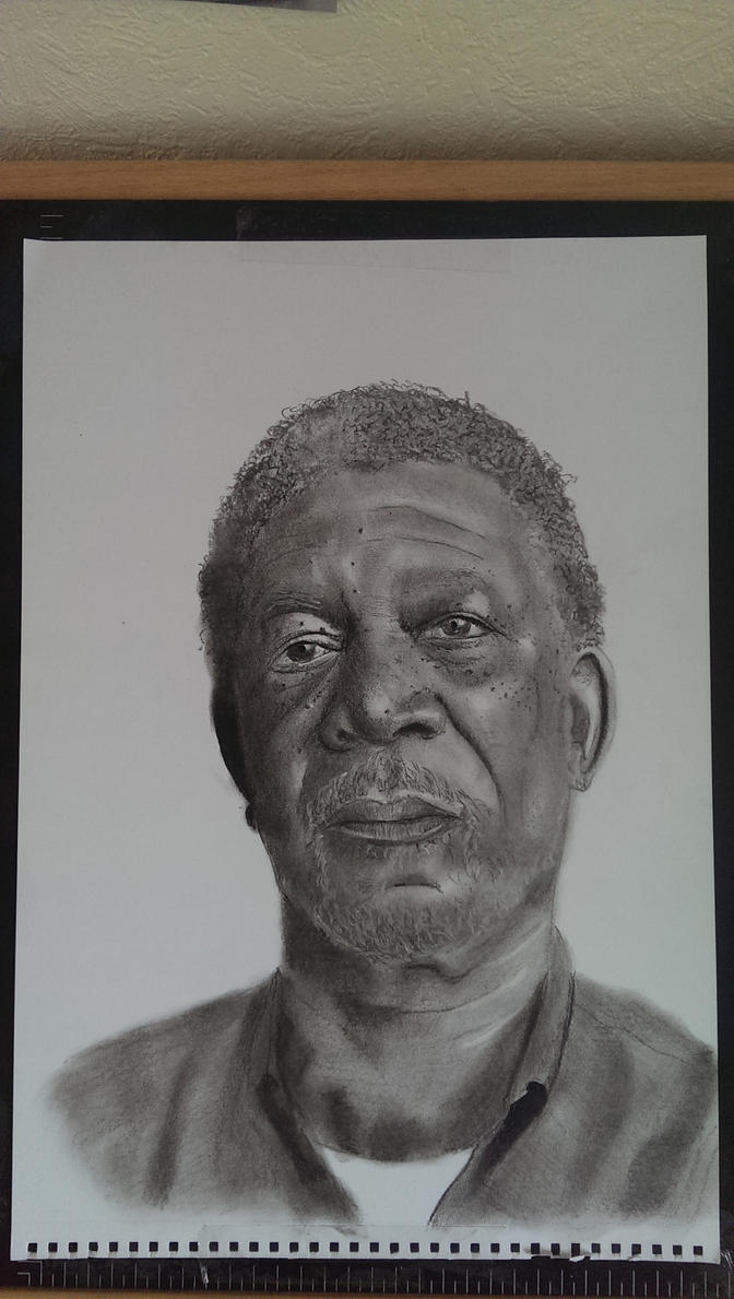 Morgan Freeman by Jon-Wyatt