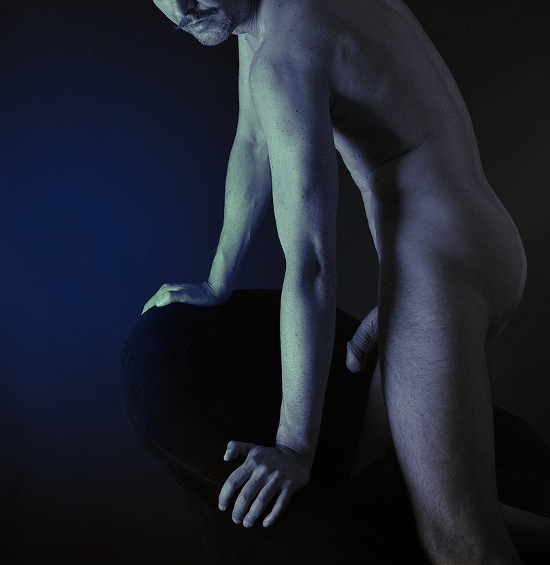 blue nude by domar66