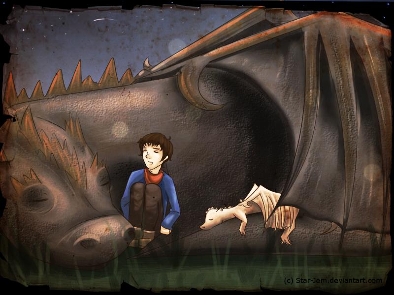 Sleeping dragons by Star-Jem