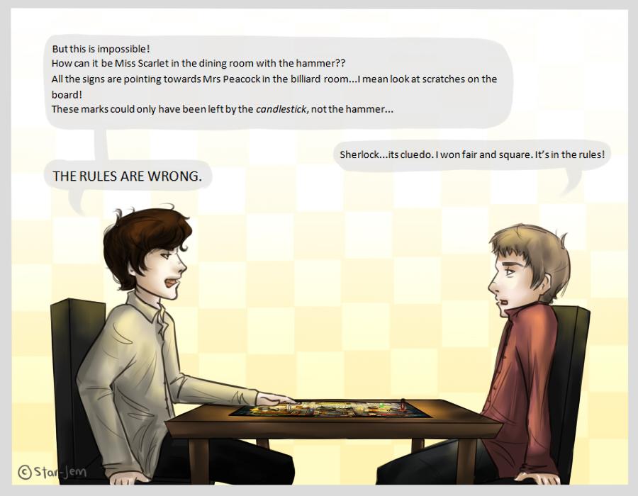 Sherlock: Cluedo by Star-Jem