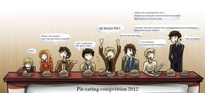 Superwholock - Pie eating competition