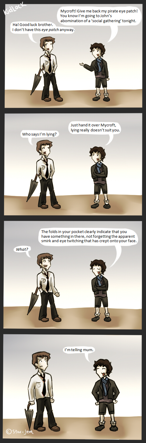 KidLock and the pirate eye patch by Star-Jem