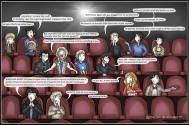 Superwholockingers - at the movies