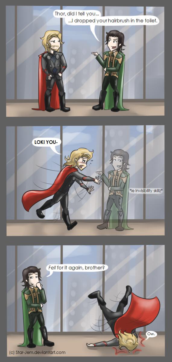 Thor's hairbrush by Star-Jem
