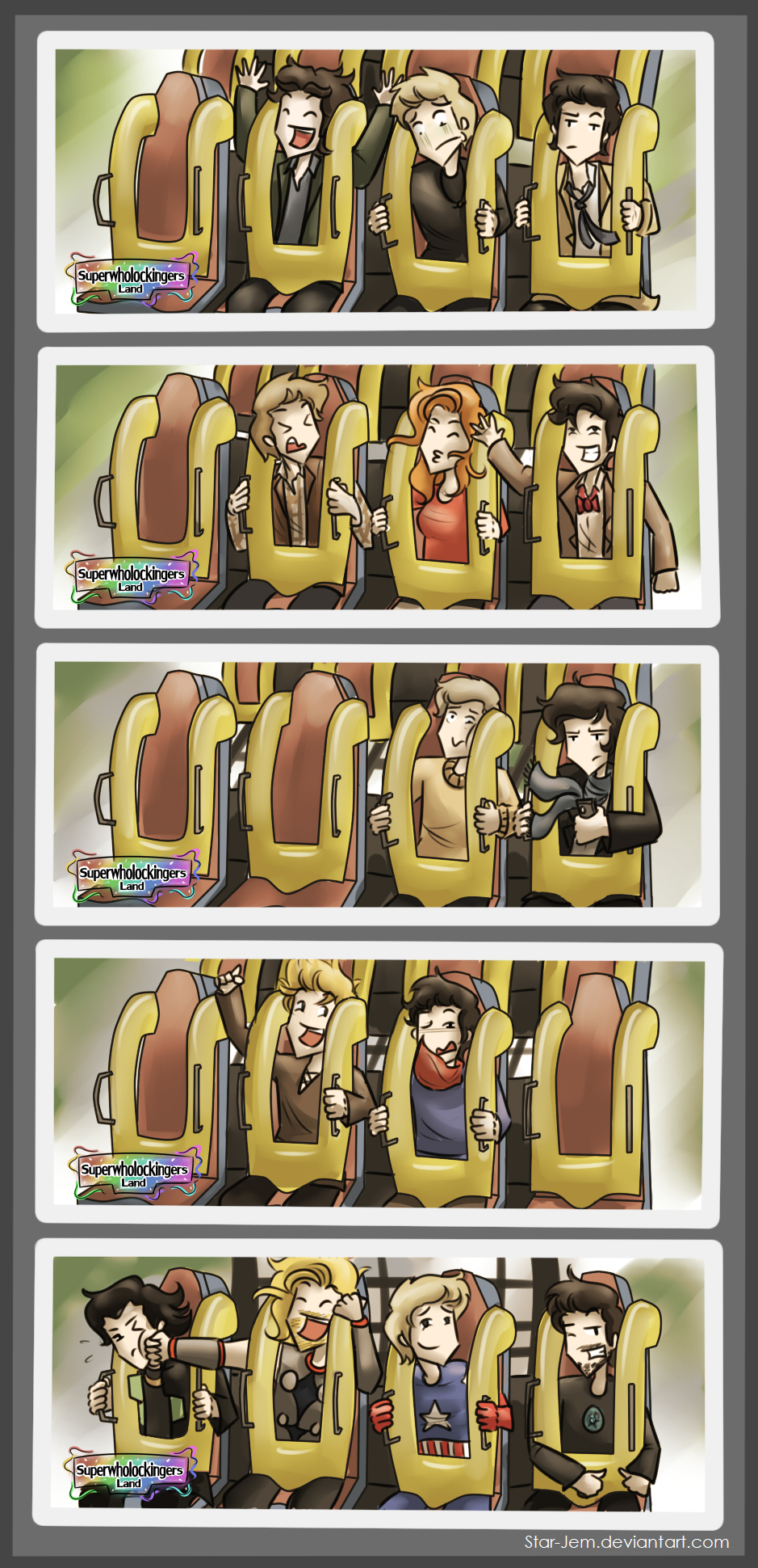 Superwholockingers - roller coaster rides by Star-Jem