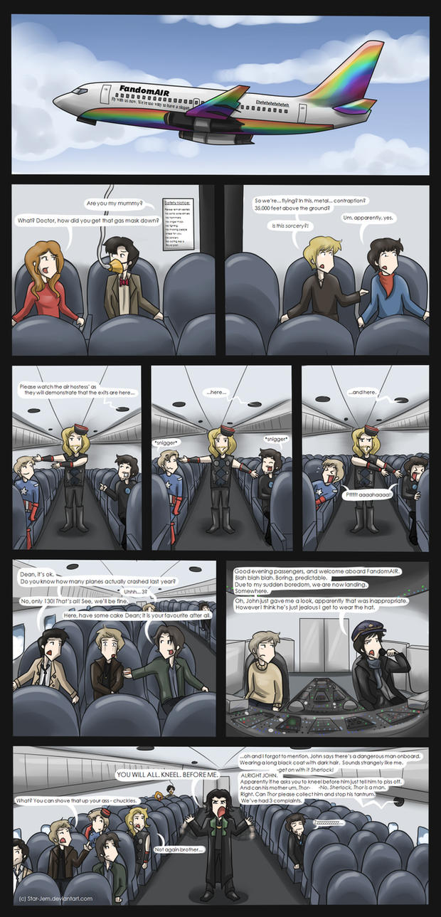 Superwholockingers - air travel by Star-Jem