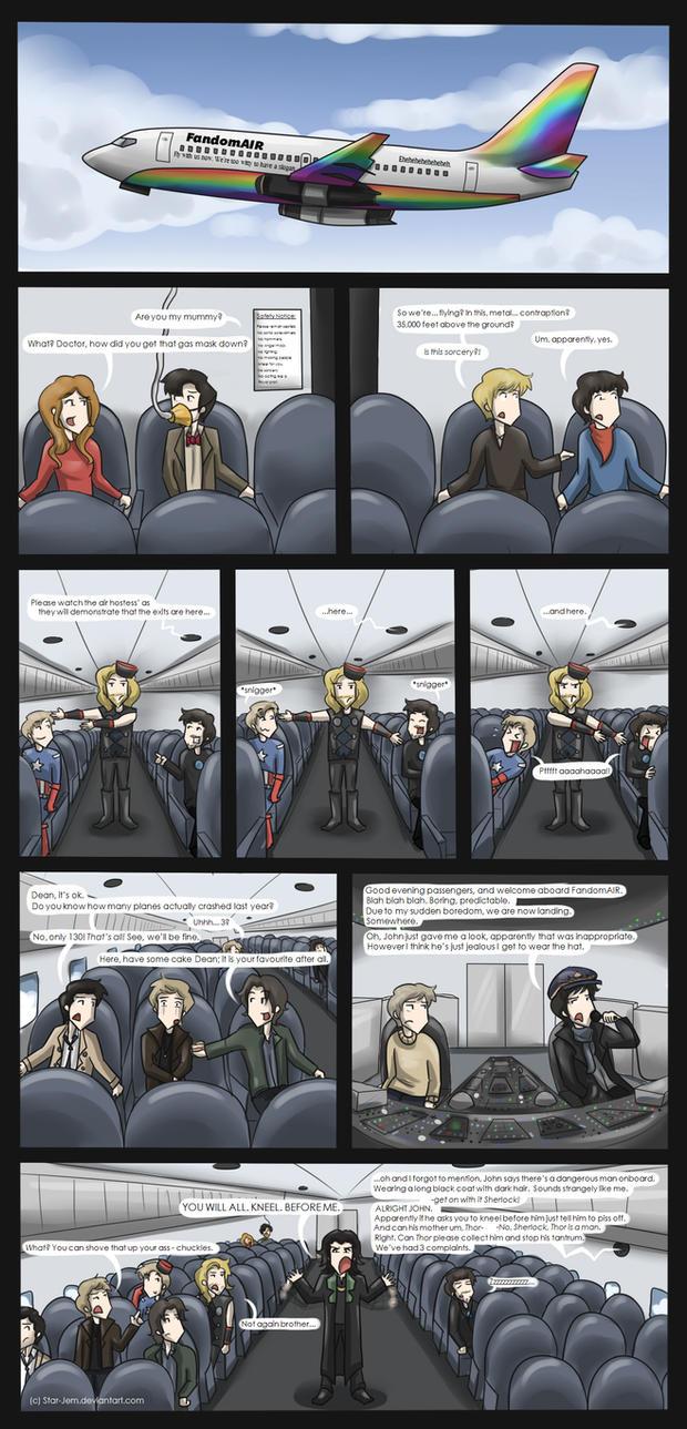 Superwholockingers - air travel by Star-Jem
