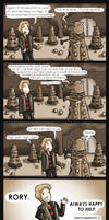 Doctor Who - Rory's eggs