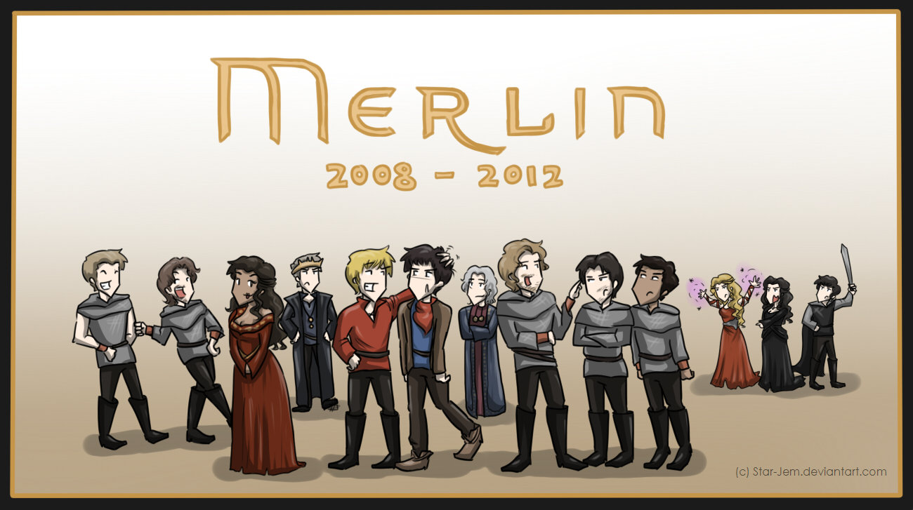 Merlin Tribute: 2008-2012 by Star-Jem