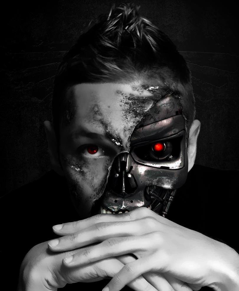 Terminator Face by IstvanBukovszki on DeviantArt