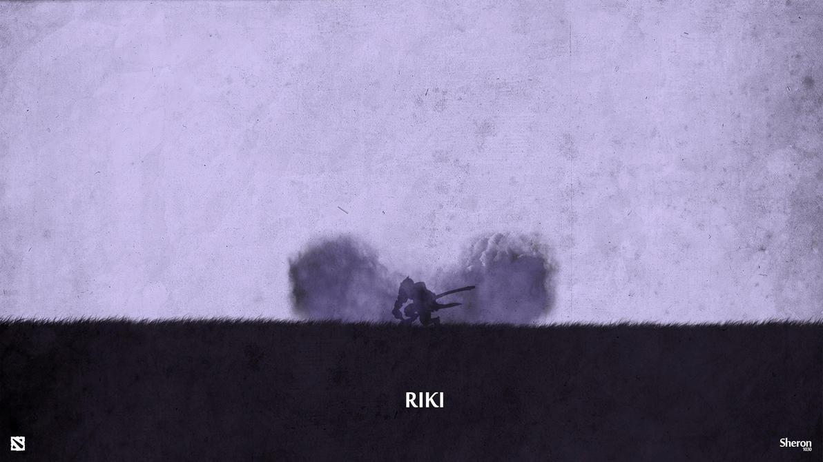 Dota 2 - Riki Wallpaper by sheron1030
