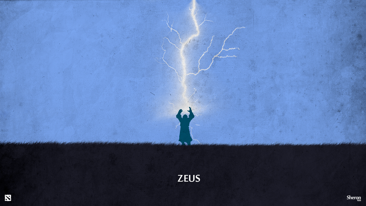 Dota 2 - Zeus Wallpaper by sheron1030