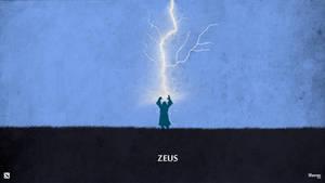 Dota 2 - Zeus Wallpaper by sheron1030