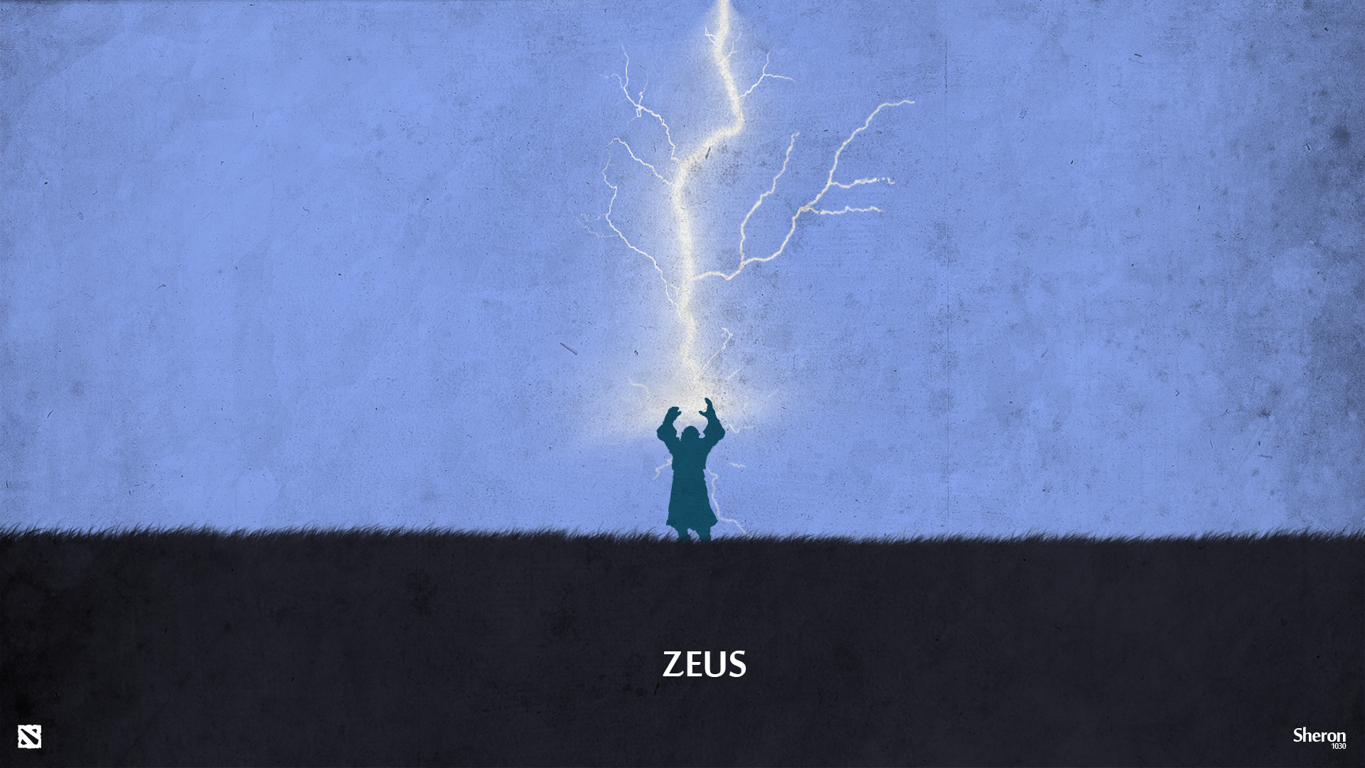 dota 2 zeus wallpaper by sheron1030 on deviantart