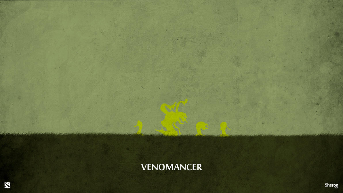 Dota 2 - Venomancer Wallpaper by sheron1030